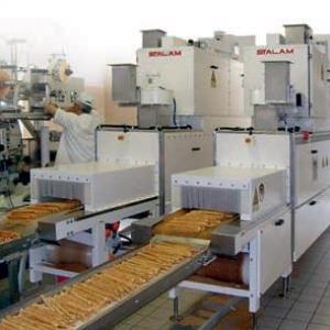 Радиочастотное оборудование Stalam для подсушивания хлебопродуктов после печей